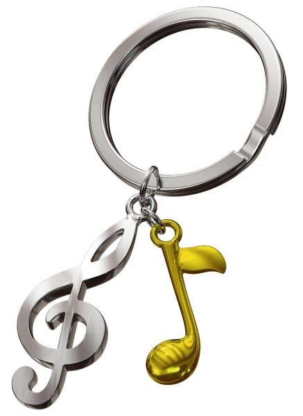 Schlüsselanhänger Musik