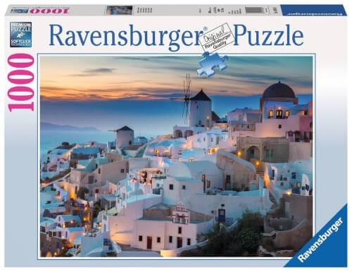 Ravensburger 19611 Puzzle Abend in Santorini 1000 Teile