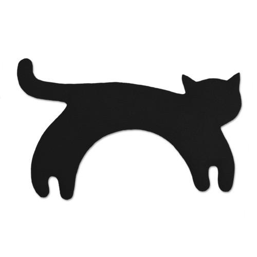Wärmekissen Katze schwarz