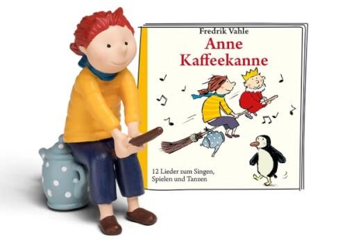 Tonies® Anne Kaffeekanne - 12 Lieder zum Singen, Spielen und Tanzen, ab 3 Jahren