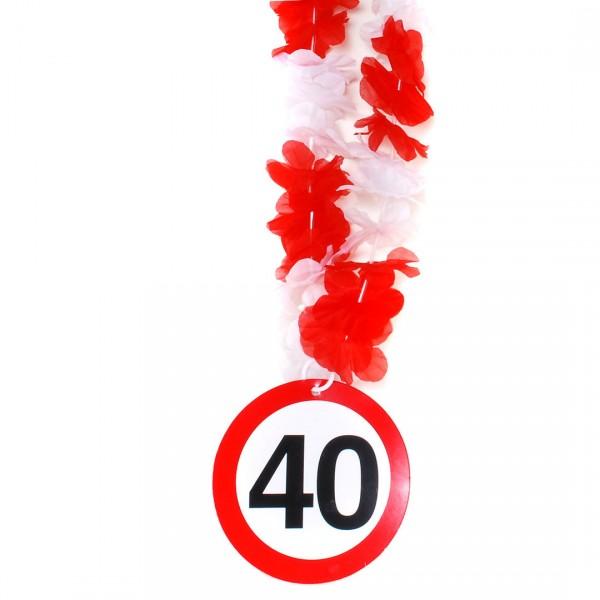 Party-Kette Zahl 40