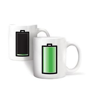Kaffeebecher Batterie
