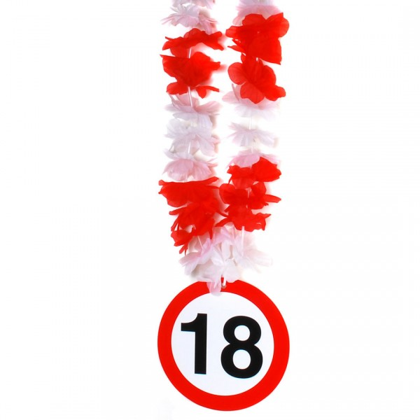Party-Kette Zahl 18