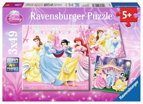 Ravensburger 09277 Puzzle Schneewittchen 3 x 49 Teile