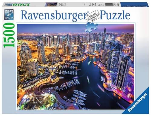 Ravensburger 16355 Puzzle: Dubai am Persischen Golf 1500 Teile