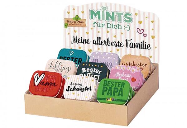 Mints Dose Familie