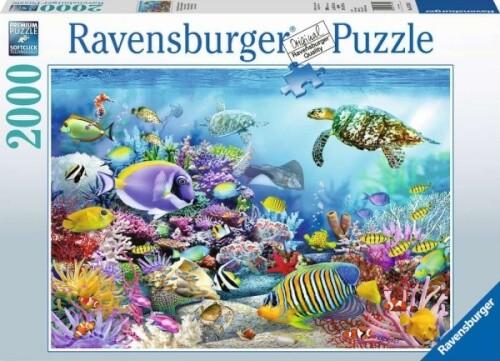 Ravensburger 16704 Puzzle Lebendige Unterwasserwelt 2000 Teile