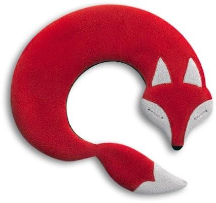 Wärmekissen Fuchs rot/schwarz
