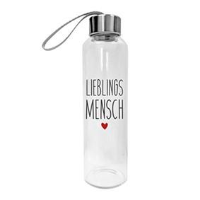 Glasflasche Lieblingsmensch
