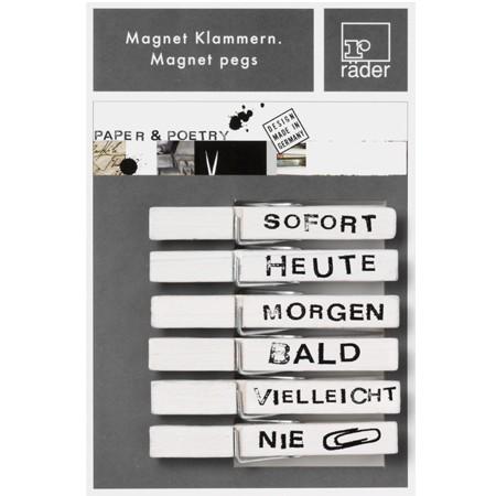 Magnetklammern Sofort, Heute, ..