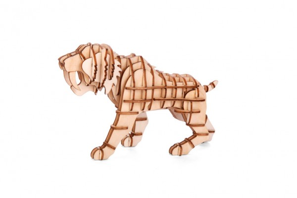3D Holzpuzzle Tiger