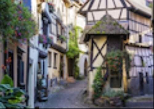 Ravensburger 15257 Puzzle: Eguisheim im Elsass 1000 Teile