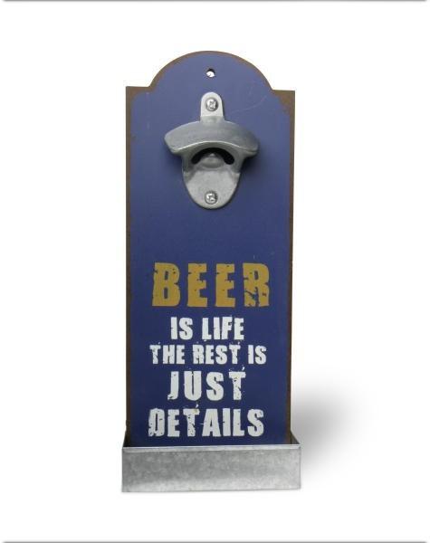 Wandflaschenöffner Beer