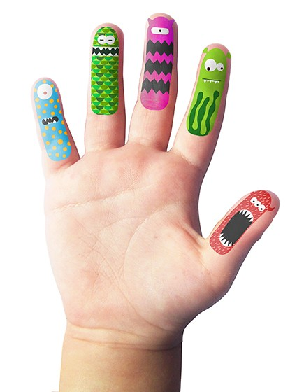 Fingerfriends Monsters