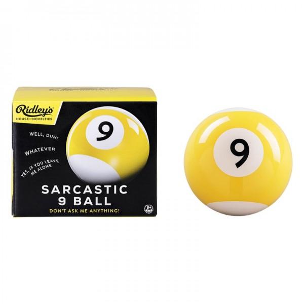Sarcastic 9 Ball
