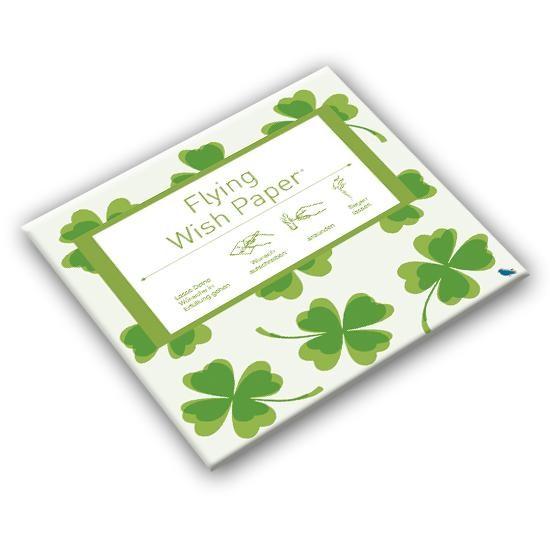 Mini - Wunschpapier Flying Wish Glück