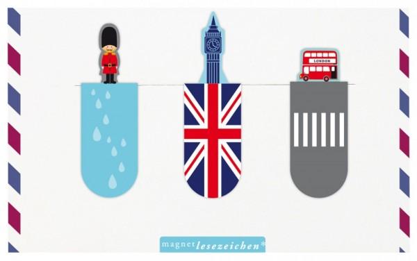 Magnetlesezeichen London