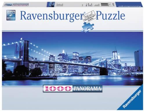 Ravensburger 15050 Puzzle Leuchtendes New York 1000 Teile Panorama