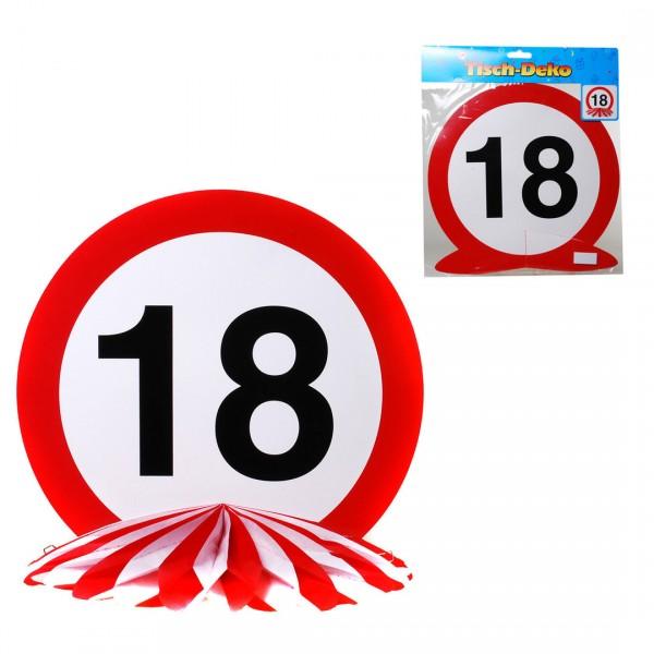 Tischdeko Geburtstag 18