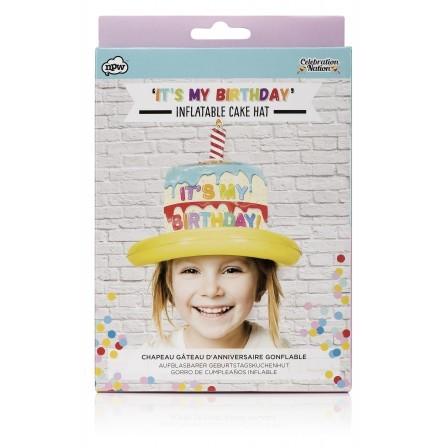 Aufblasbarer Geburtstagshut