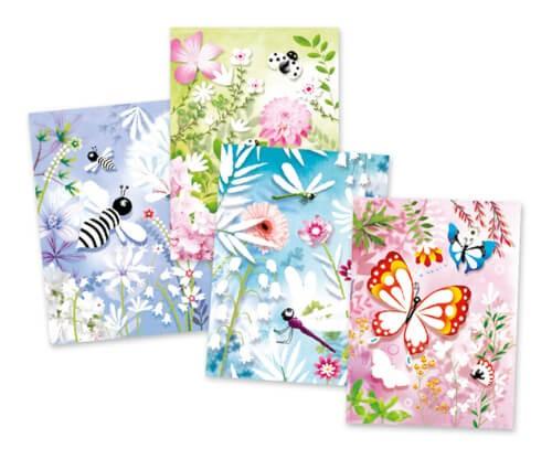 Glitzersand: Glitzer Schmetterlinge
