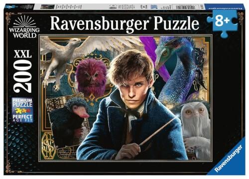 Ravensburger 12611 Puzzle Scamanders Fantastische Tierwesen 200 Teile XXL