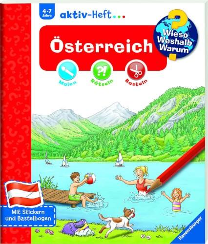 Ravensburger 32972 WWW aktiv-Heft Österreich