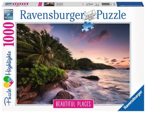 Ravensburger 15156 Puzzle: Insel Praslin auf den Seychellen 1000 Teile