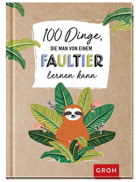 100 Dinge, Faultier