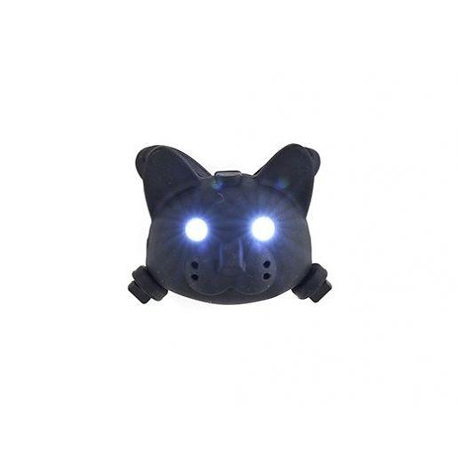 Fahrradlicht Katze