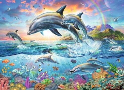 Ravensburger 13697 Puzzle Bunte Unterwasserwelt 200 Teile