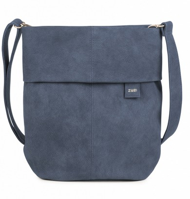 Tasche Mademoiselle 12 nubuk-blue
