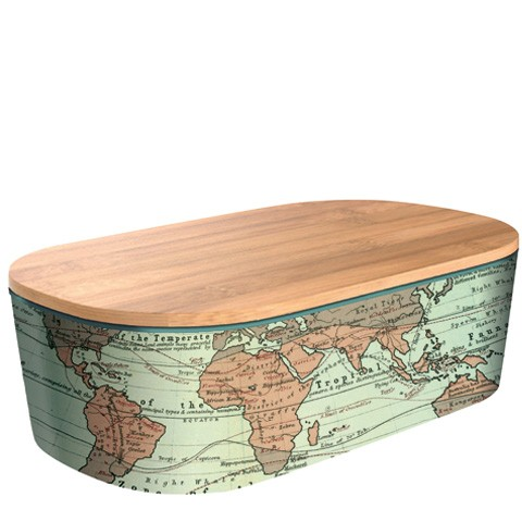 Lunchbox Bamboo Deluxe Map