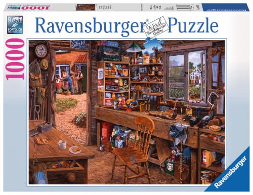Ravensburger 19790 Puzzle: Opas Schuppen 1000 Teile