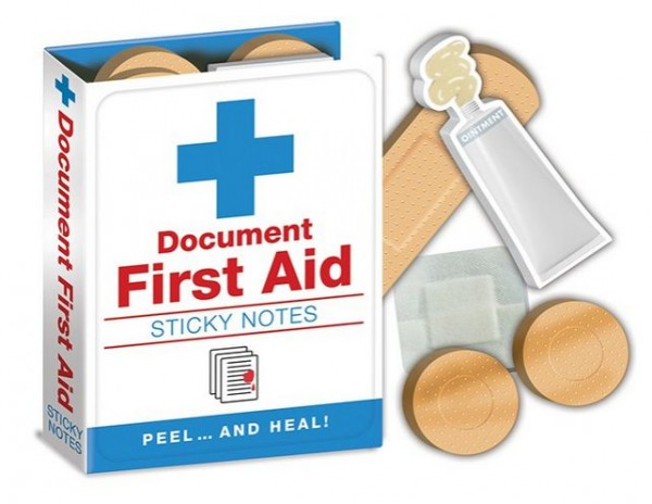 Sticky Notes First Aid