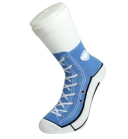 Socken Sneaker blau