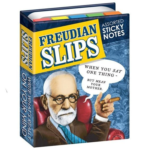 Sticky Notes Freud'sche Ausrutscher