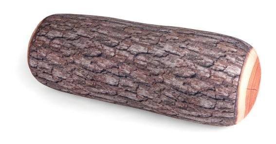 Kissen Holzstamm