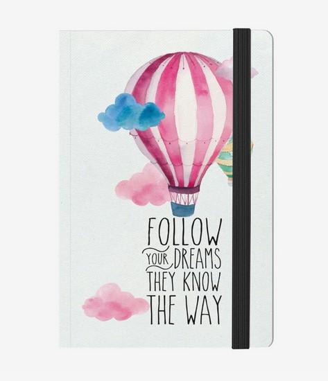 Notizbuch Follow your Dreams