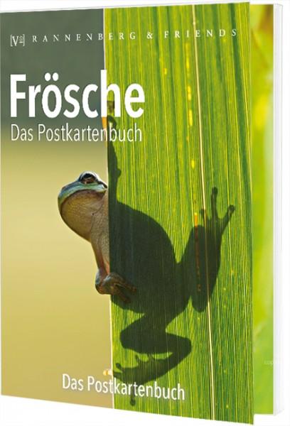 Postkartenbuch Frösche