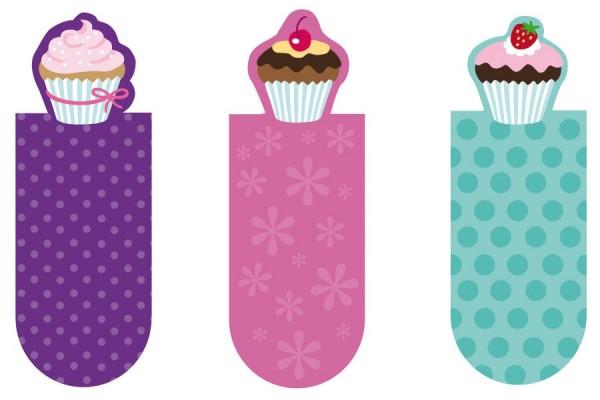 Magnetlesezeichen Muffins