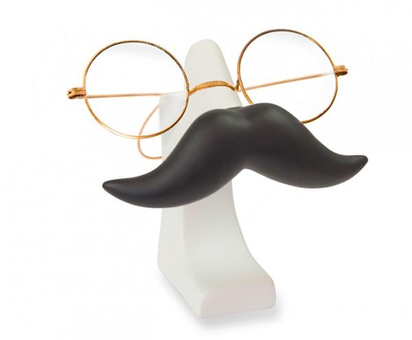 Brillenhalter Schnurrbart