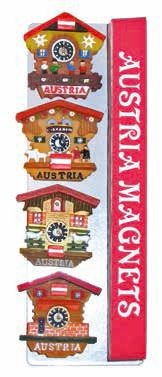 MagnetSet Kuckucksuhren