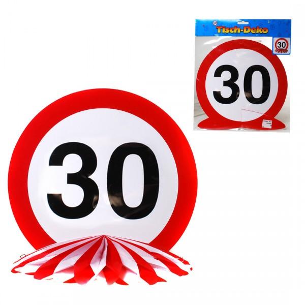Tischdeko Geburtstag 30