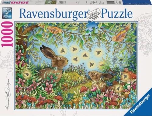 Ravensburger 15172 Puzzle Nächtlicher Zauberwald 1000 Teile