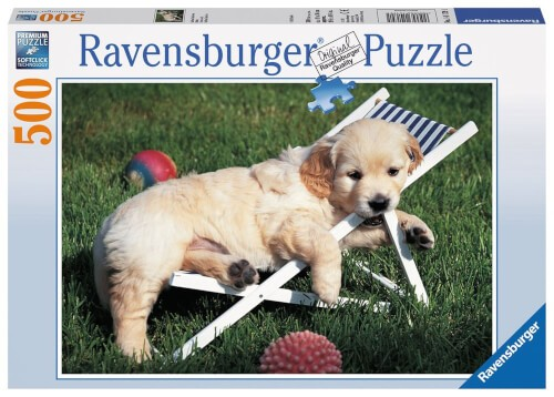 Ravensburger 14179 Puzzle Golden Retriever 500 Teile