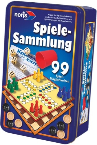 Simba Noris 99iger-Spielesammlung in Metallbox