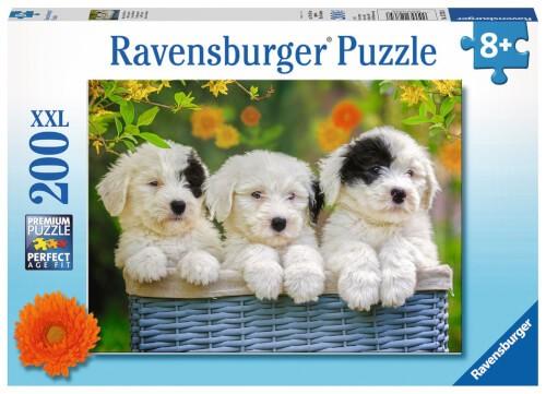 Ravensburger 12765 Puzzle XXL: Kuschelige Welpen, 200 Teile