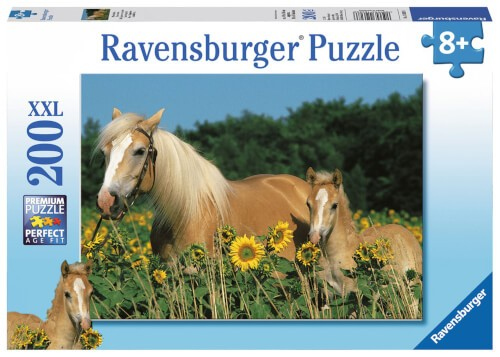 Ravensburger 12628 Puzzle Pferdeglück 200 Teile