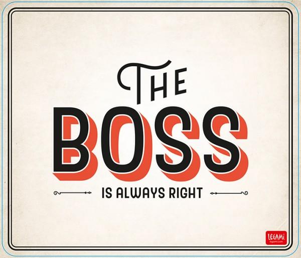 Mousepad Boss